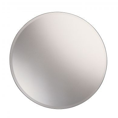 Gedy Round Bevelled Edge Mirror - 650mm - Main Image