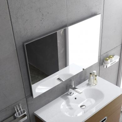 Sonia Aluglass 80 Framed Mirror - 600X800mm - Main Image