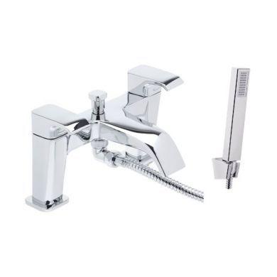 Tavistock Adapt Bath Shower Mixer With Handset