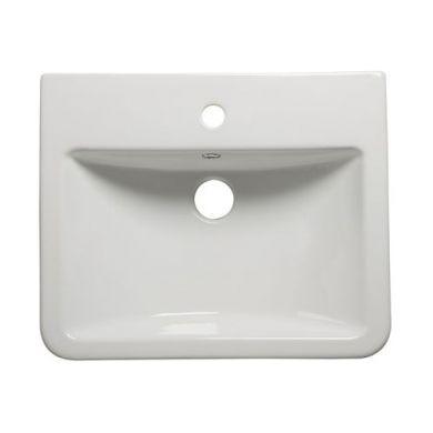 Tavistock Agenda 515mm Semi Countertop Ceramic Basin