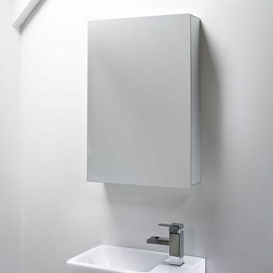 Tavistock Balance 440mm Single Mirror Door Cabinet