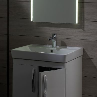 Tavistock Compass 600mm Freestanding Vanity Unit With Ceramic Basin