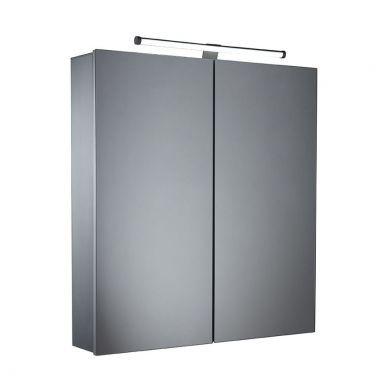 Tavistock Conduct 600mm Double Door LED Illuminated Cabinet