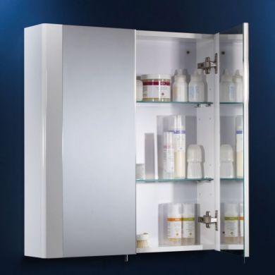 Tavistock Detail 600mm Double Mirror Door Cabinet