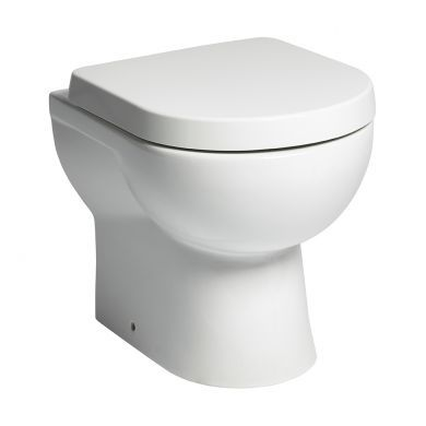 Tavistock Ion Comfort Height Back To Wall Toilet With Wrap Over Seat