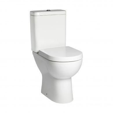 Tavistock Ion Comfort Height Close Coupled Toilet With Cistern and Wrap Over Seat
