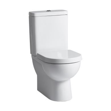 Tavistock Ion Fully Enclosed Closed Coupled Toilet With Cistern and Wrap Over Seat