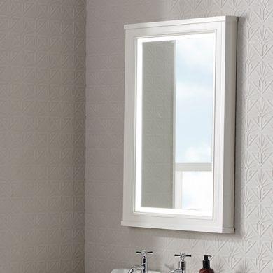 Tavistock Lansdown 556X790mm Framed Illuminated Mirror