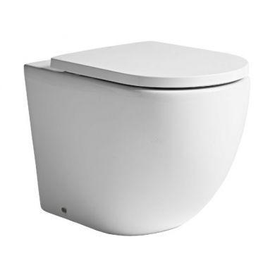 Tavistock Orbit Back To Wall Toilet and Seat