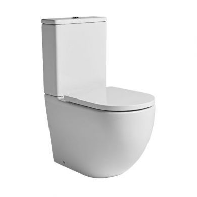 Tavistock Orbit Fully Enclosed Close Coupled Toilet With Cistern and Seat