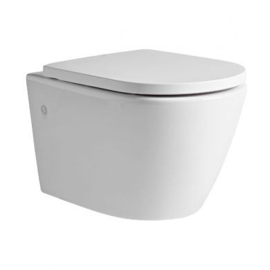 Tavistock Orbit Wall Hung Toilet and Seat