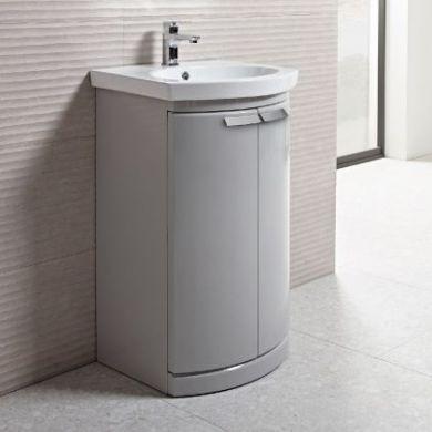 Tavistock Tempo 500mm Freestanding Vanity Unit With Ceramic Basin