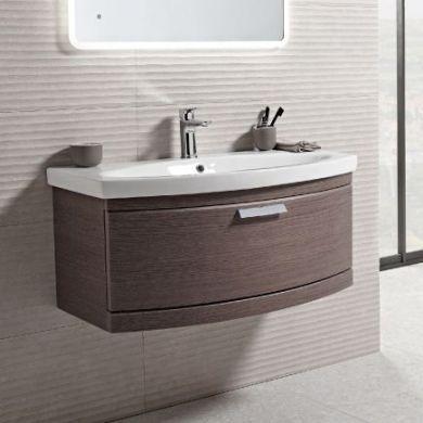 Tavistock Tempo 900mm Wall Mounted Vanity Unit With Ceramic Basin