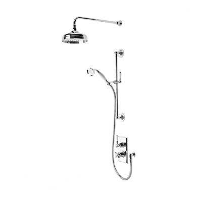 Tavistock Varsity Thermostatic Concealed Dual Function Diverter Shower System