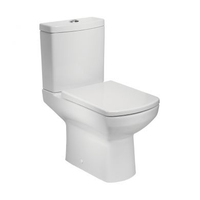 Tavistock Vibe Fully Enclosed Close Coupled Toilet With Cistern and Seat