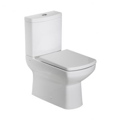 Tavistock Vibe Open Back Close Coupled Toilet With Cistern and Seat