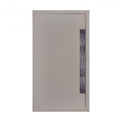 Doccia Canto Lateral Natural Stone Effect Shower Tray Musgo Brown - 1200x800mm