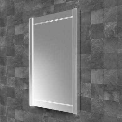 HiB Duplus 50 Illuminated Mirror With Heated Demister Pad - 500x900mm
