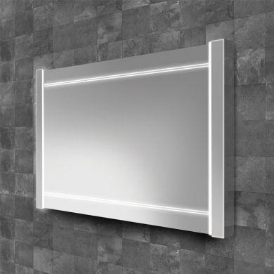 HiB Duplus 80 Illuminated Mirror With Heated Demister Pad - 800x600mm
