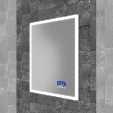 HiB Globe Plus 50 Steam Free Mirror With LED Ambient Lighting - 500x700mm