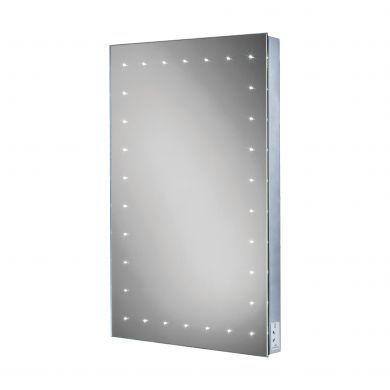 HiB Astral LED Illuminated Steam Free Mirror - 500x700mm