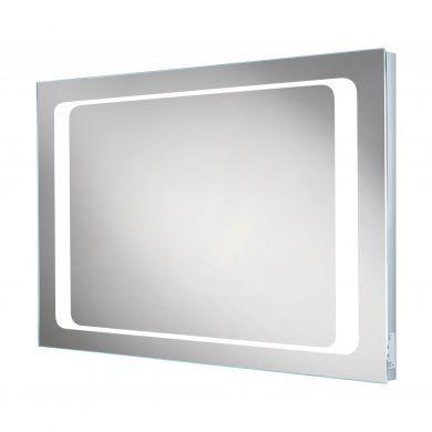 HiB Axis LED Backlit Steam Free Mirror - 800x600mm