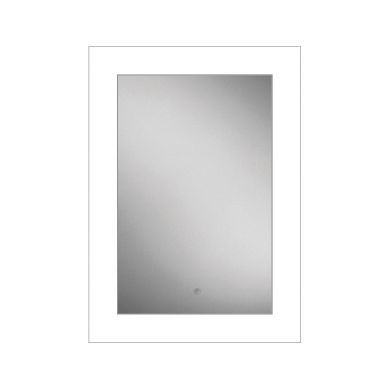 HiB Element 50 Steam Free Mirror With LED Ambient Lighting - 500x700mm