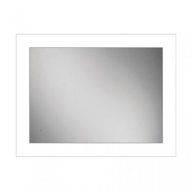 HiB Element 60 Steam Free Mirror With LED Ambient Lighting - 600x800mm