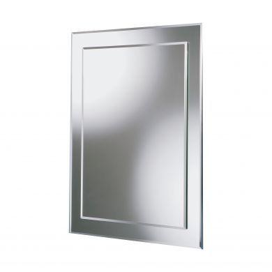 HiB Linus Bevelled Edge Mirror - 500x700mm