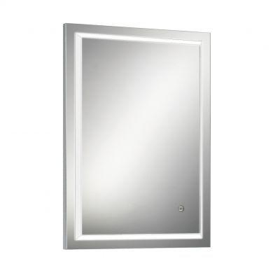 HiB Spectre 50 Steam Free Mirror With Adjustable LED Illumination - 500x700mm