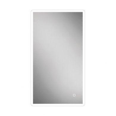 HiB Vega 40 Steam Free Mirror With LED Ambient Lighting - 400x800mm