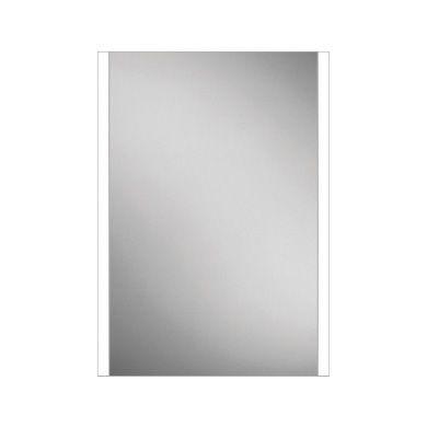 HiB Zircon 50 LED Illuminated Steam Free Mirror - 500x700mm