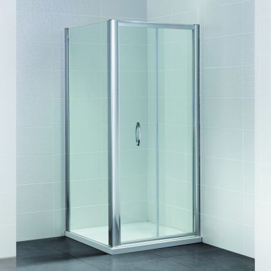 Frontline Identiti2 8mm Bi-Folding Shower Door - 760mm