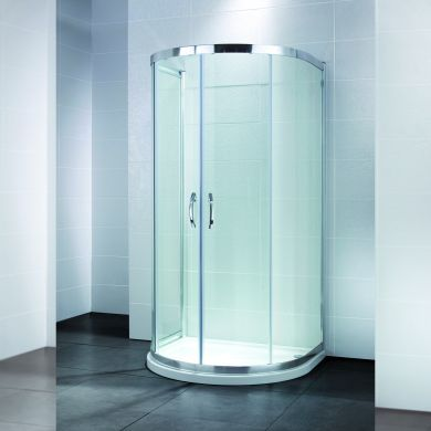 Frontline Identiti2 U Shaped Quadrant Shower Enclosure - 1040x915mm