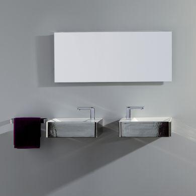Olympia Crystal Designer Bacinello Platinum Basin - Main Image