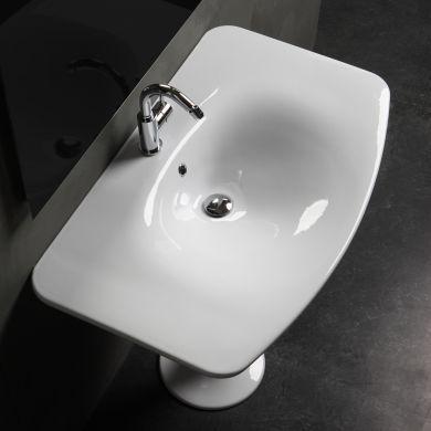 Olympia Designer Formosa Freestanding Basin and Pedestal - 900mm - Main Image