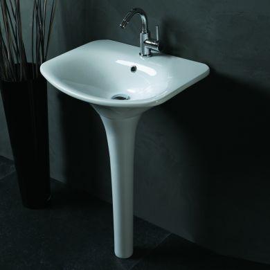 Olympia Designer Formosa Basin and Pedestal - 600mm - Main Image