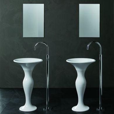 Olympia Designer Formosa Freestanding Basin and Pedestal - 500mm - Main Image