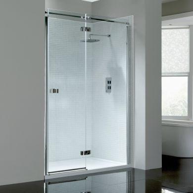 Frontline Prestige2 8mm Right Hand Hinged Shower Door with Frameless Design - 1400mm