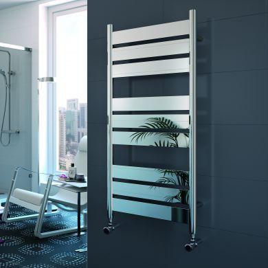 Radox Apollo Designer Mild Steel Towel Radiator 1050x500mm