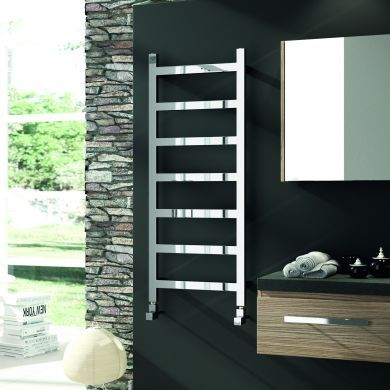 Radox Eros Designer Mild Steel Towel Radiator 875x500mm