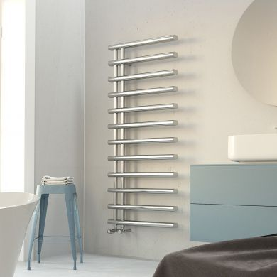 Radox Linx Designer Mild Steel Towel Radiator 1150x500mm