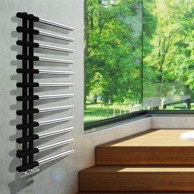 Radox Linx Two Tone Designer Mild Steel Towel Radiator 1150x500mm