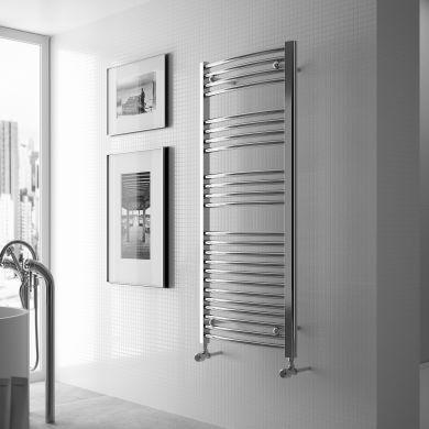 Radox Premier Curved Designer Mild Steel Towel Radiator 1200x500mm