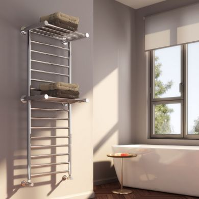 Reina Adena Stainless Steel Designer Towel Radiator 1300x532mm