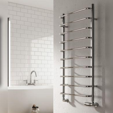 Reina Aliano Mild Steel Designer Towel Rail 500x500mm