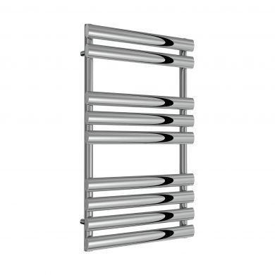 Reina Arbori Chrome Designer Mild Steel Towel Radiator 820x500mm