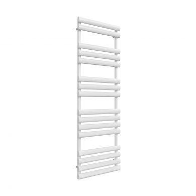 Reina Arbori White Designer Mild Steel Towel Radiator 1510x500mm
