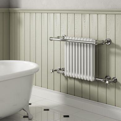 Reina Camden Traditional Steel Towel Radiator 508x770mm