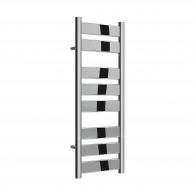 Reina Carpi Chrome Designer Mild Steel Towel Radiator 800x300mm